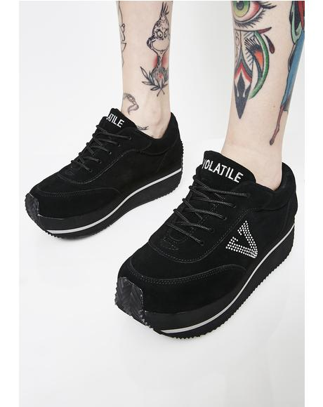 Midnight Expulsion Sneakers