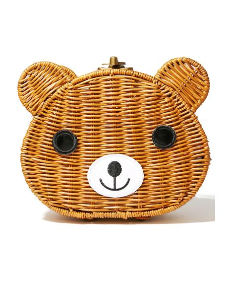 Forest Friend Wicker Bag