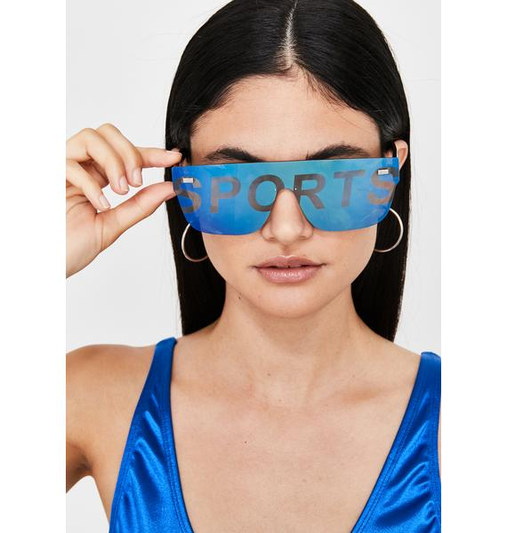 Major Leaguez Oversized Sunglasses