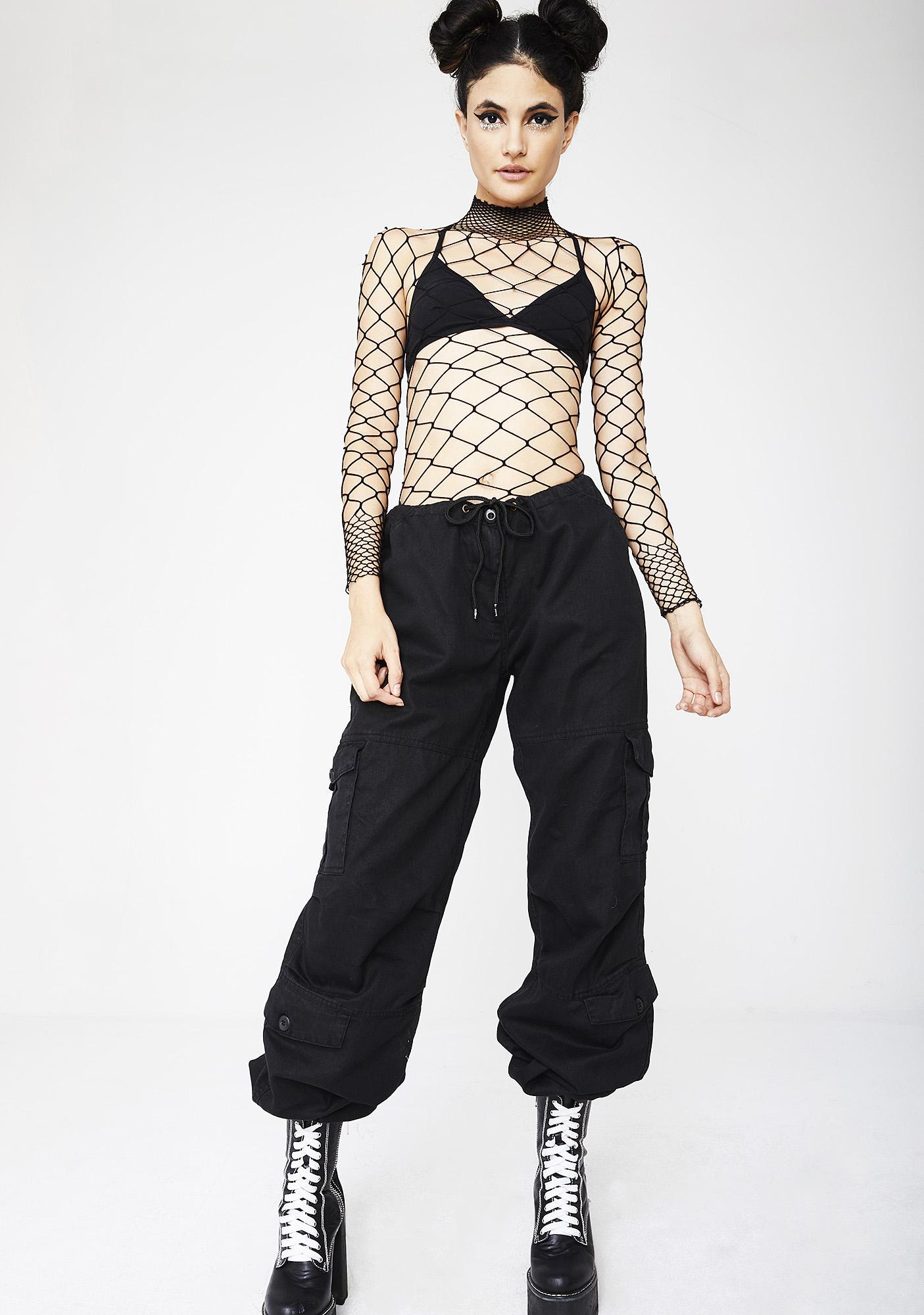 The Damned Fishnet Bodysuit