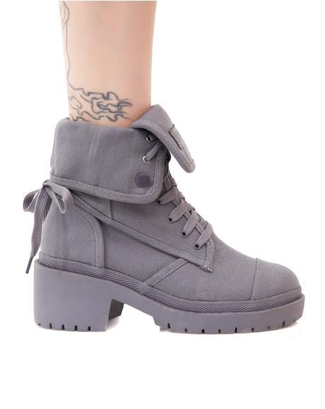Stormborn Canvas Boots