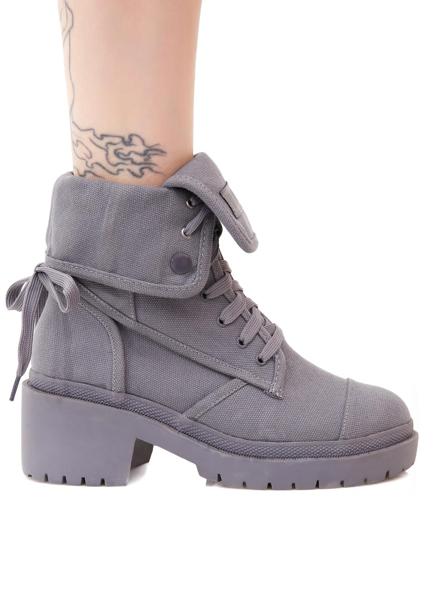Current Mood Stormborn Canvas Boots