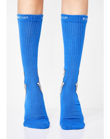 Royal Lord Nermal Socks