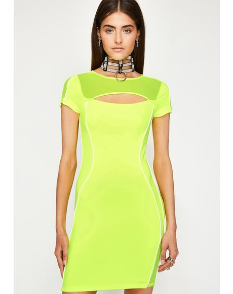 Sour Infinite Fantasy Bodycon Dress