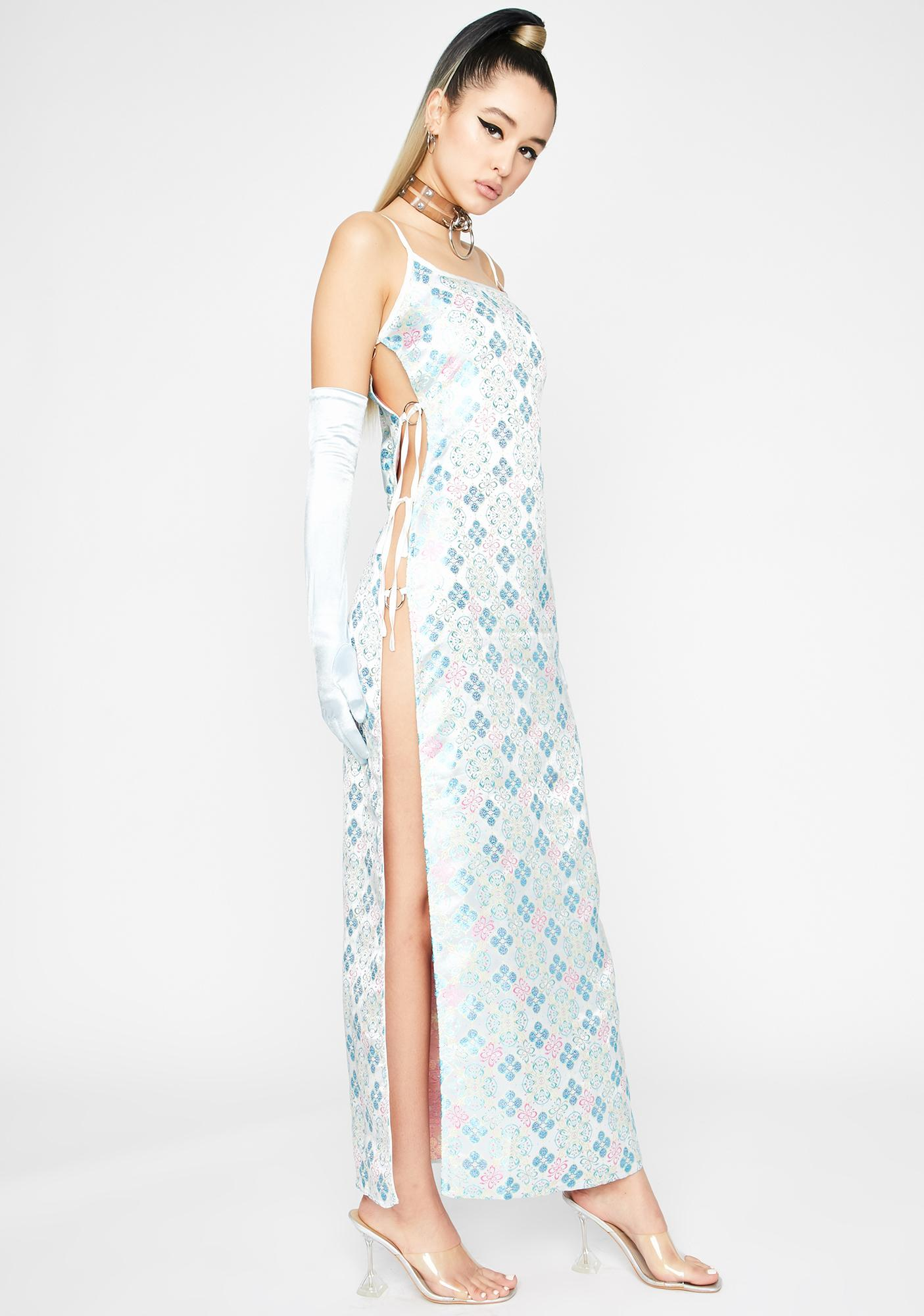 Chrome Sleepless Town Maxi Dress