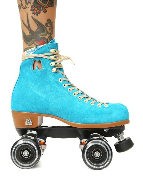 Blue Lolly Skates
