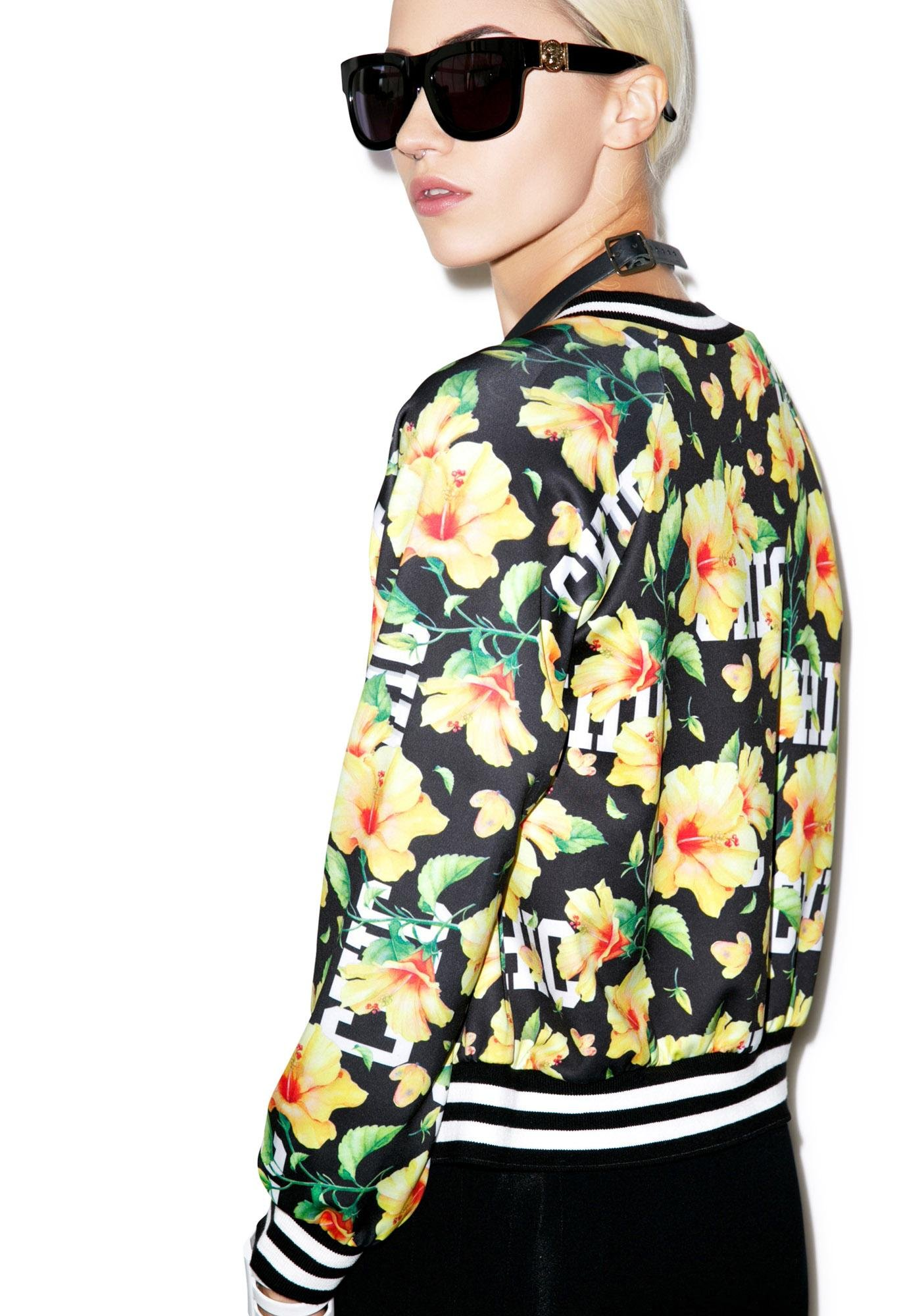 Goin' With The Flowers Jacket
