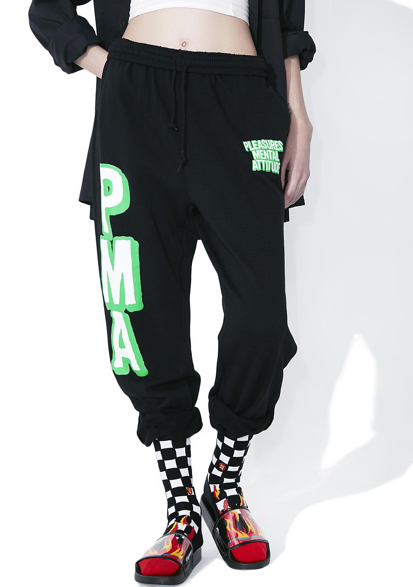 Pleasures Mental Attitude Sweatpants