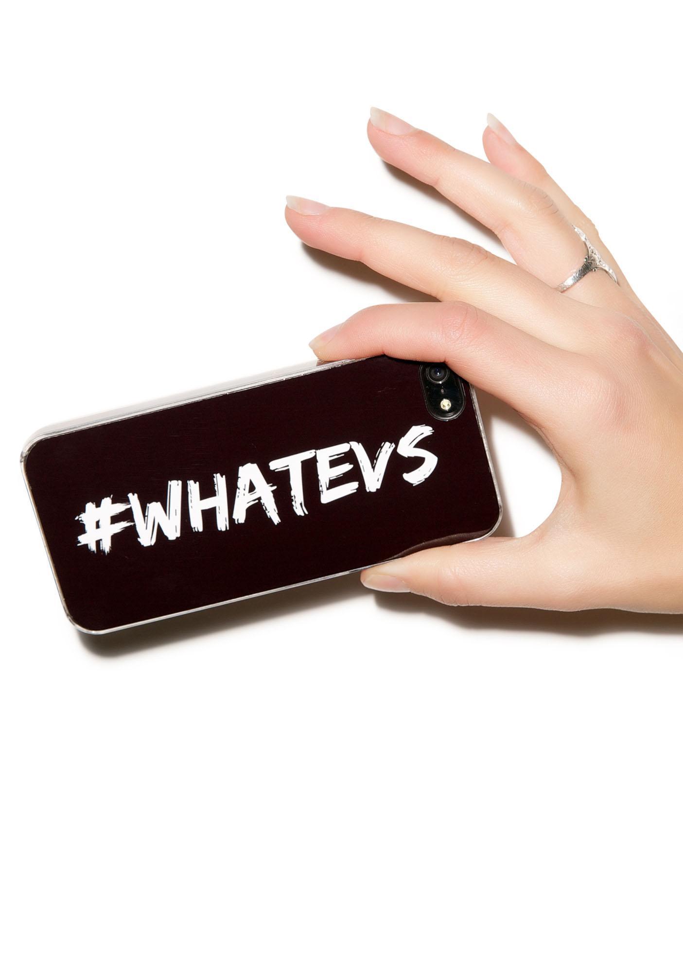 Zero Gravity #Whatevs iPhone 5/5S Case