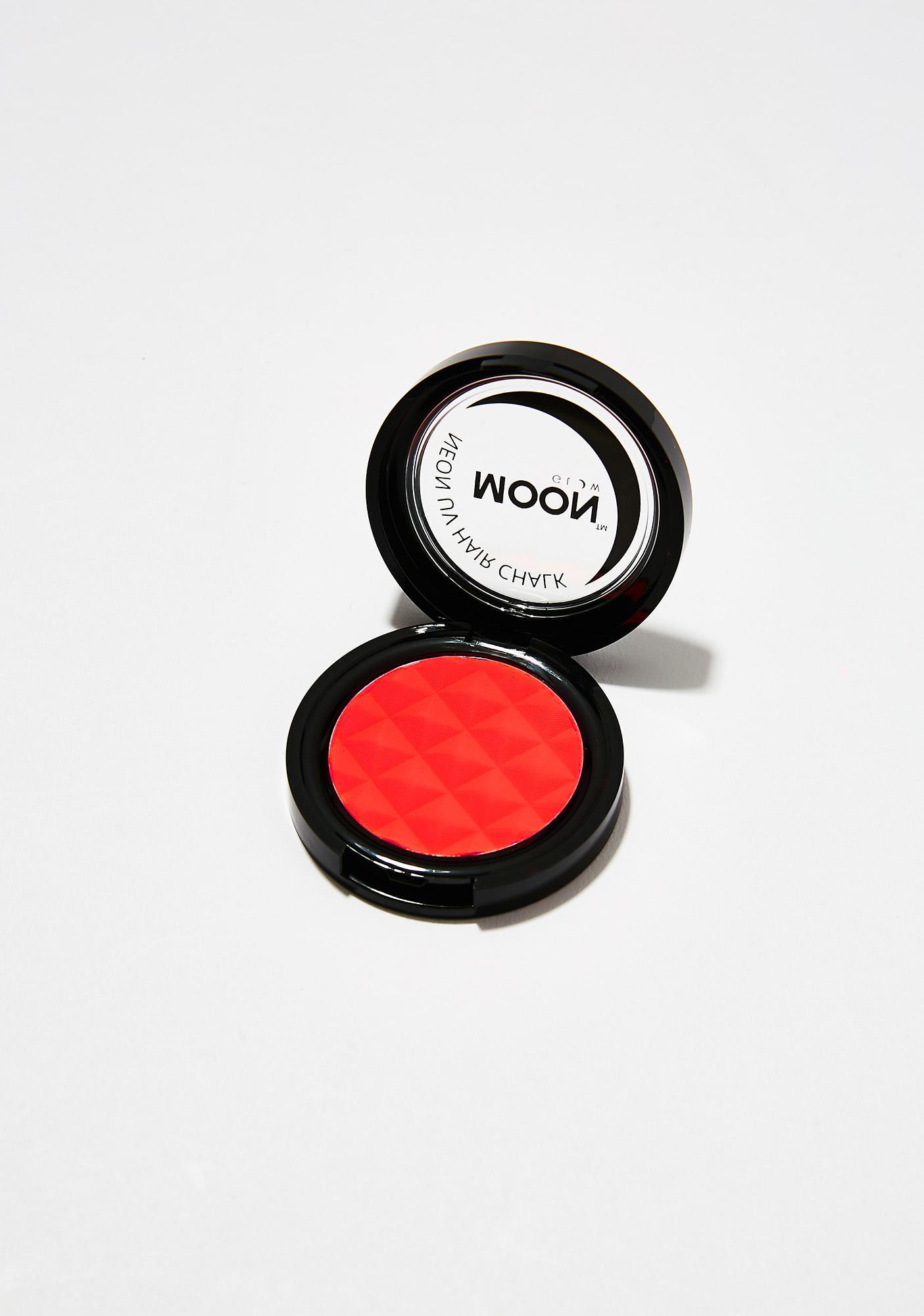 Moon Creations Neon Intense Red UV Hair Chalk