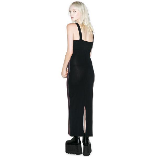 Kreepsville 666 Elvira My Coffin Maxi Dress