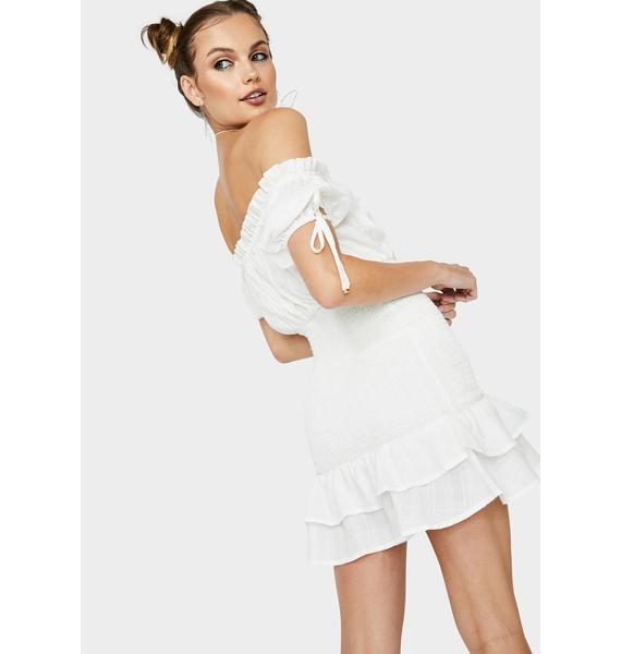 Runaway the Label May Shirred Mini Dress