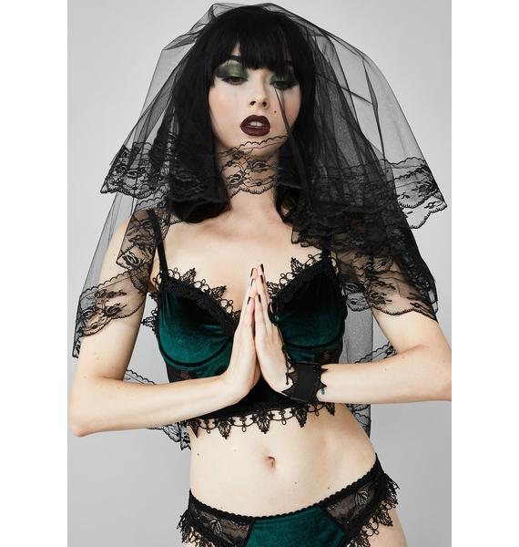 Dearly Departed Lace Veil