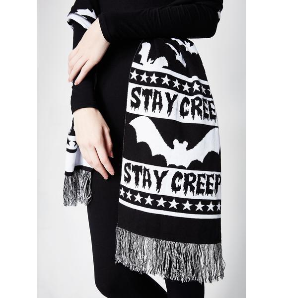 Stay Creepy Scarf