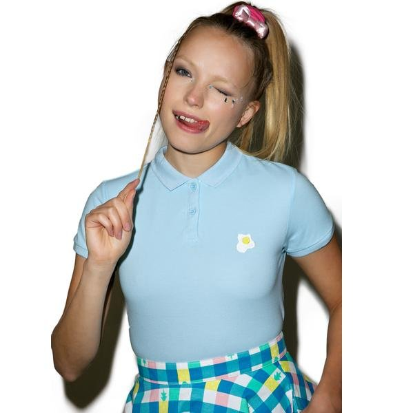 Lazy Oaf Egg Polo Shirt