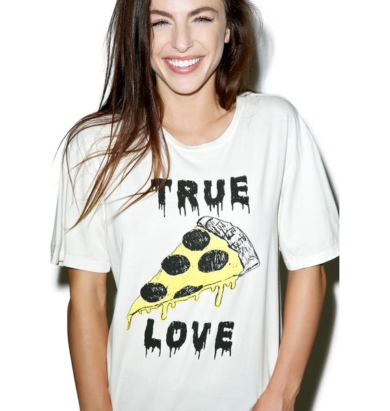 Hips and Hair True Love Pizza Tee