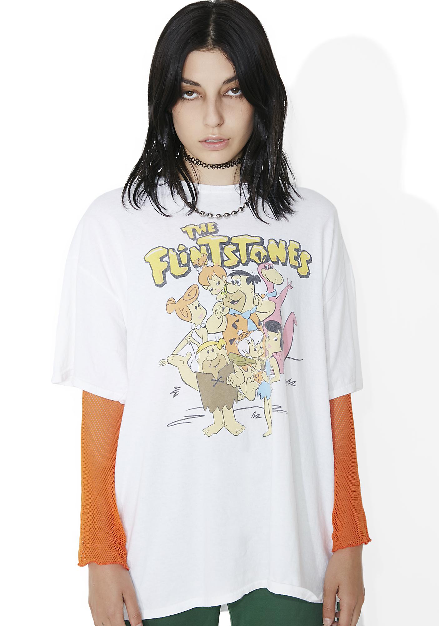 Junk Food Clothing The Flintstones Tee