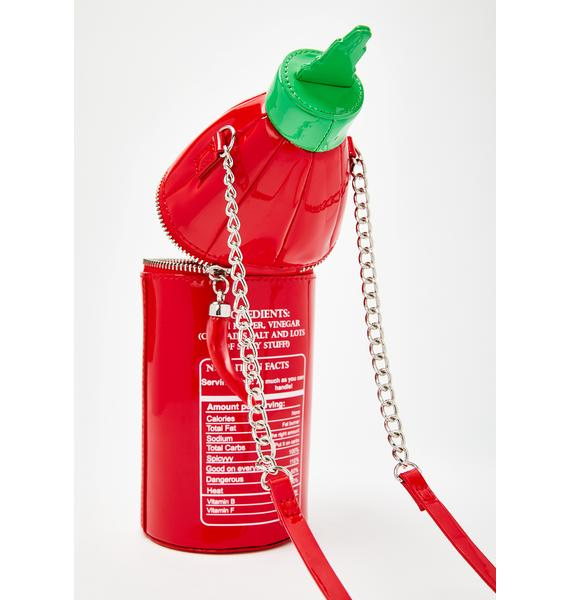 Betsey Johnson Bring The Heat Crossbody Bag