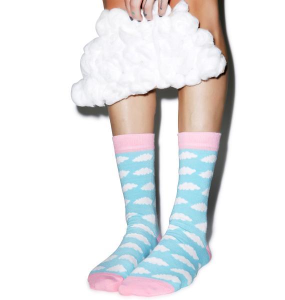 Lazy Oaf Cloud Socks