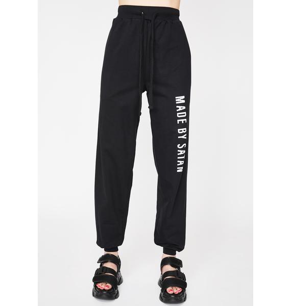 Long Clothing Made By Satan Sweatpants