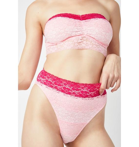 Sugar Thrillz Rose Rush Lace Panties