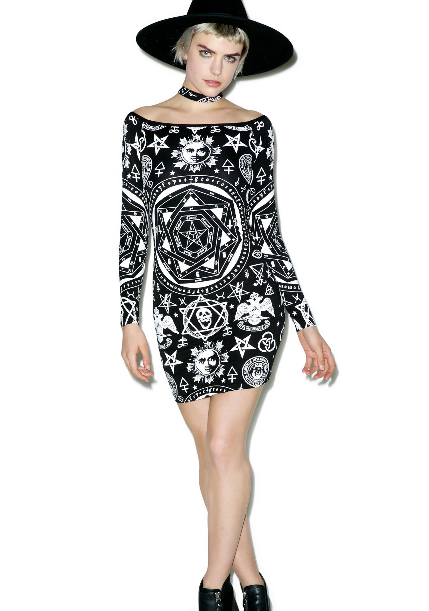 Killstar Bound Bodycon Dress