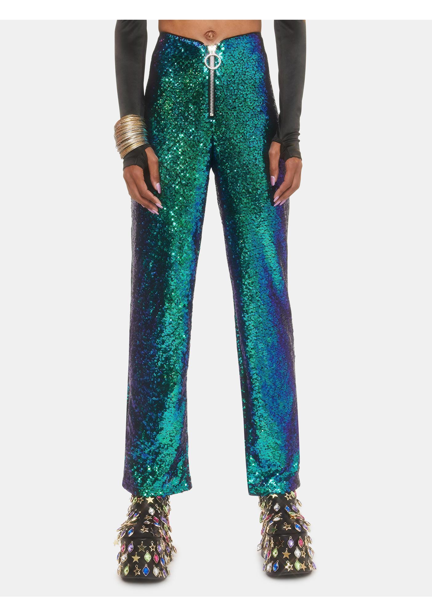 Club Exx Neptune Glimmer Sequin Pants