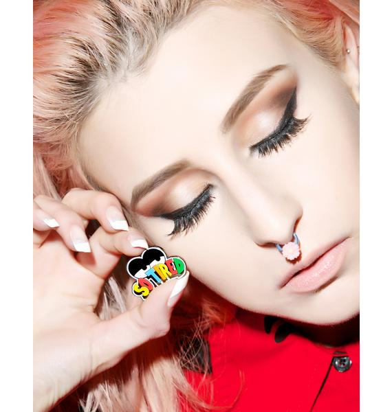 Lazy Oaf So Tired Pin Badge