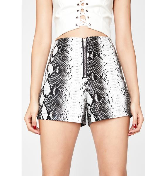 Re Named You Want It High Waist Shorts