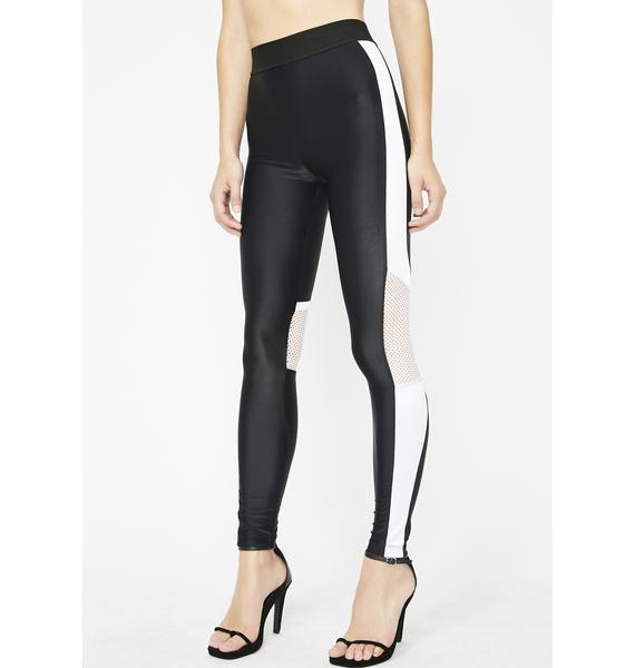 Sport Lookz Striped Leggings