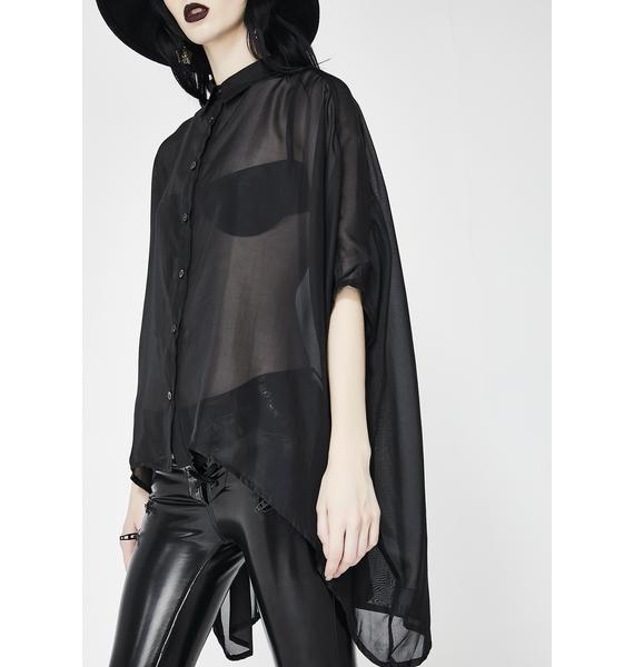 Killstar Starchild Batwing Blouse
