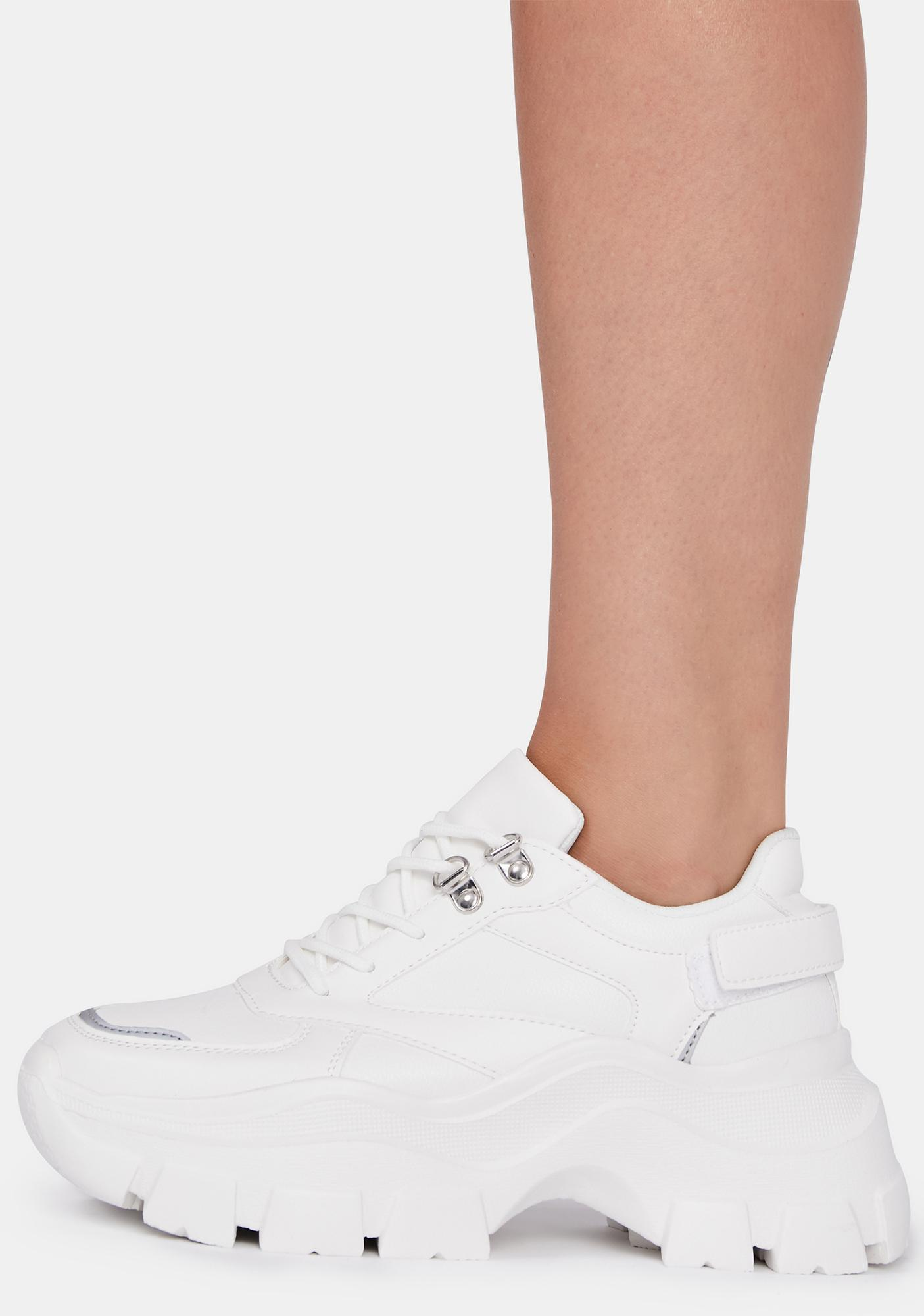 Boo Push The Limits Lace Up Sneakers