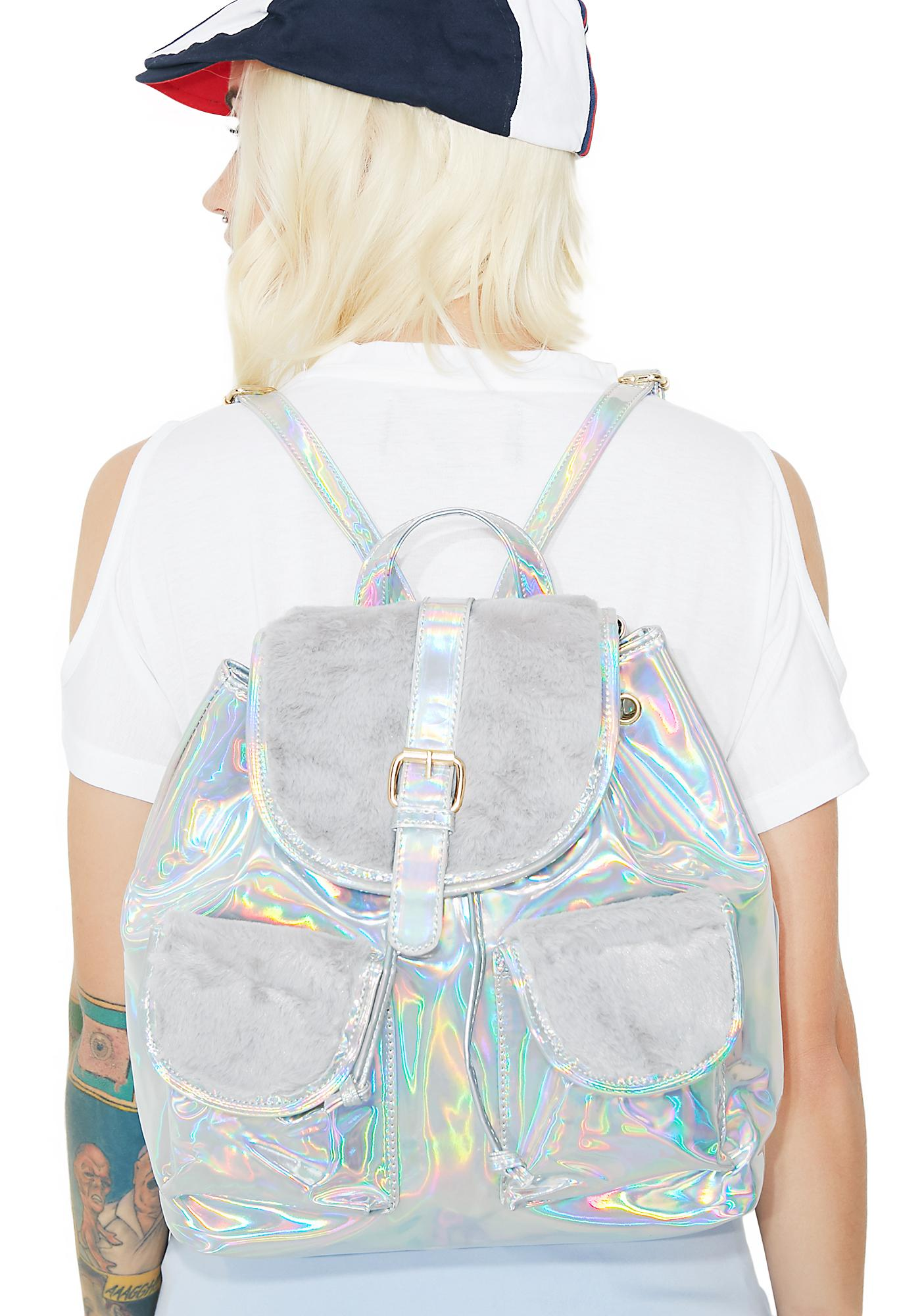 Cosmic Creature Drawstring Backpack