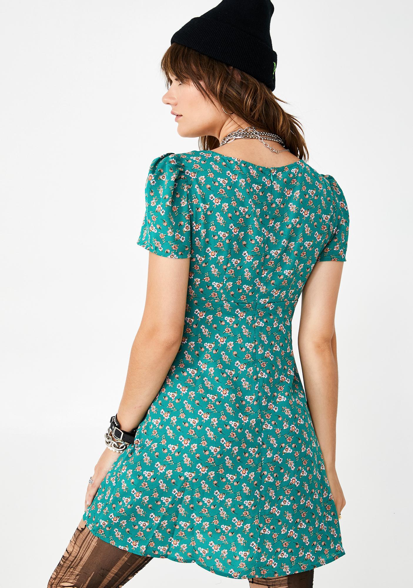 Summer Mayhem Floral Dress