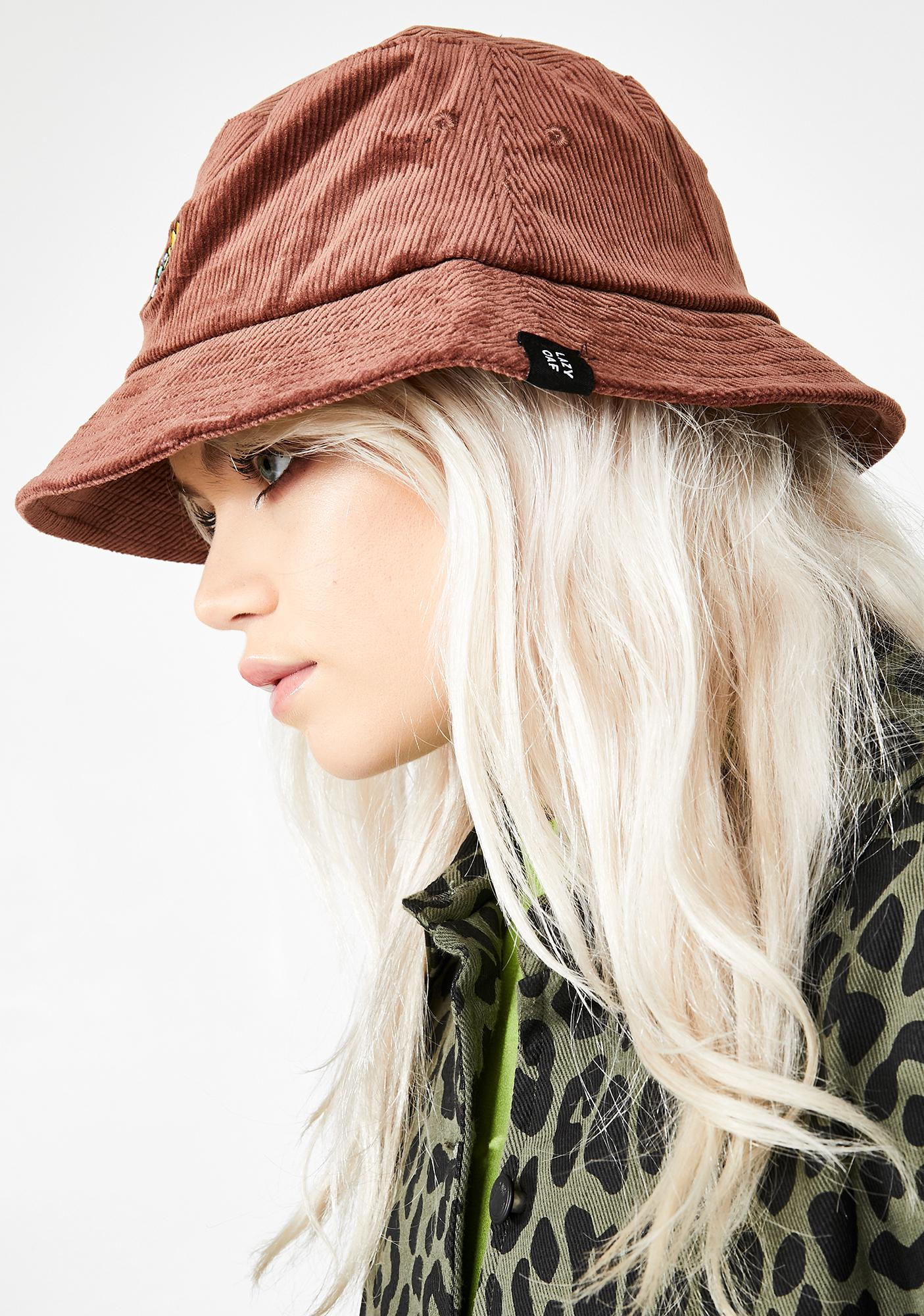 Lazy Oaf Flower Bunch Corduroy Hat