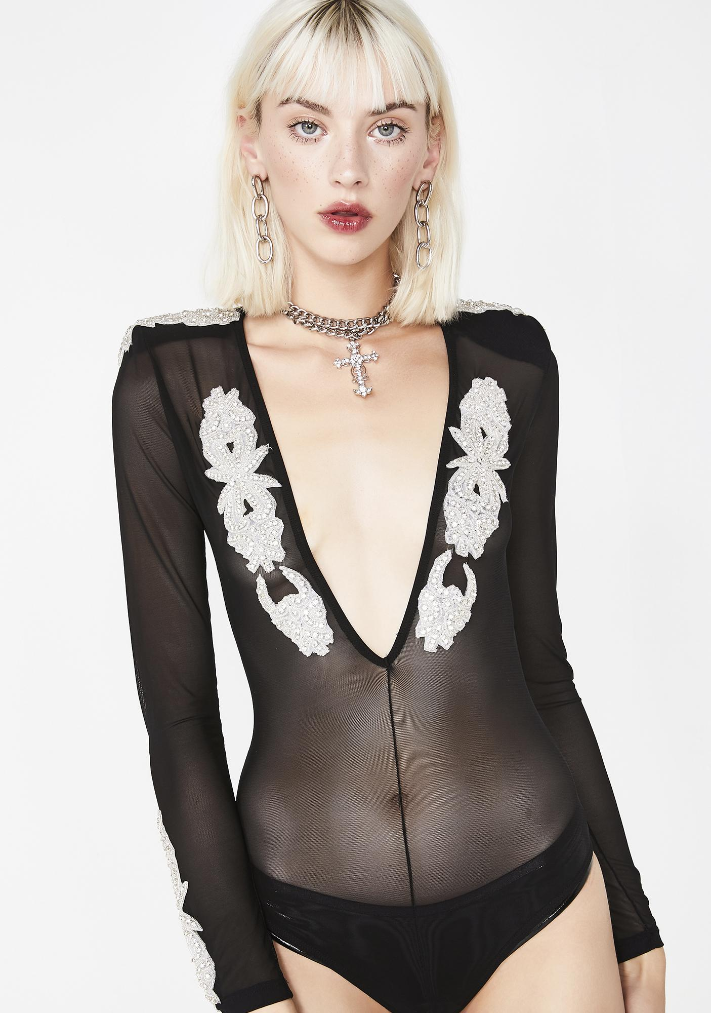 Kiki Riki Night Goddess Sheer Bodysuit
