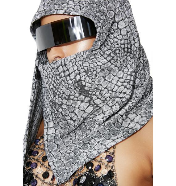 Five and Diamond Ninja Textured Hood