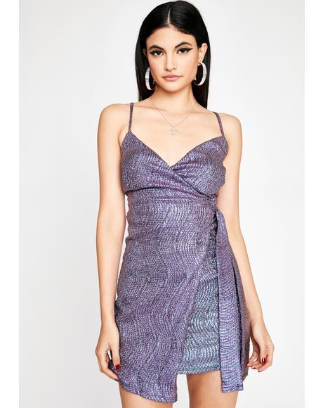 Be My Muse Wrap Dress