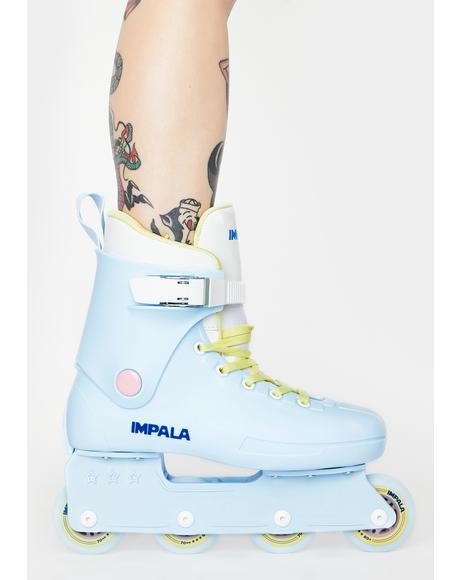 Sky Blue Inline Skates