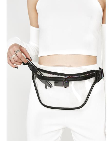 Space Bass Clear Fanny Pack