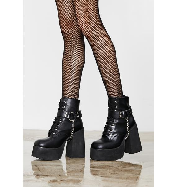 Current Mood Missing Link Platform Boots