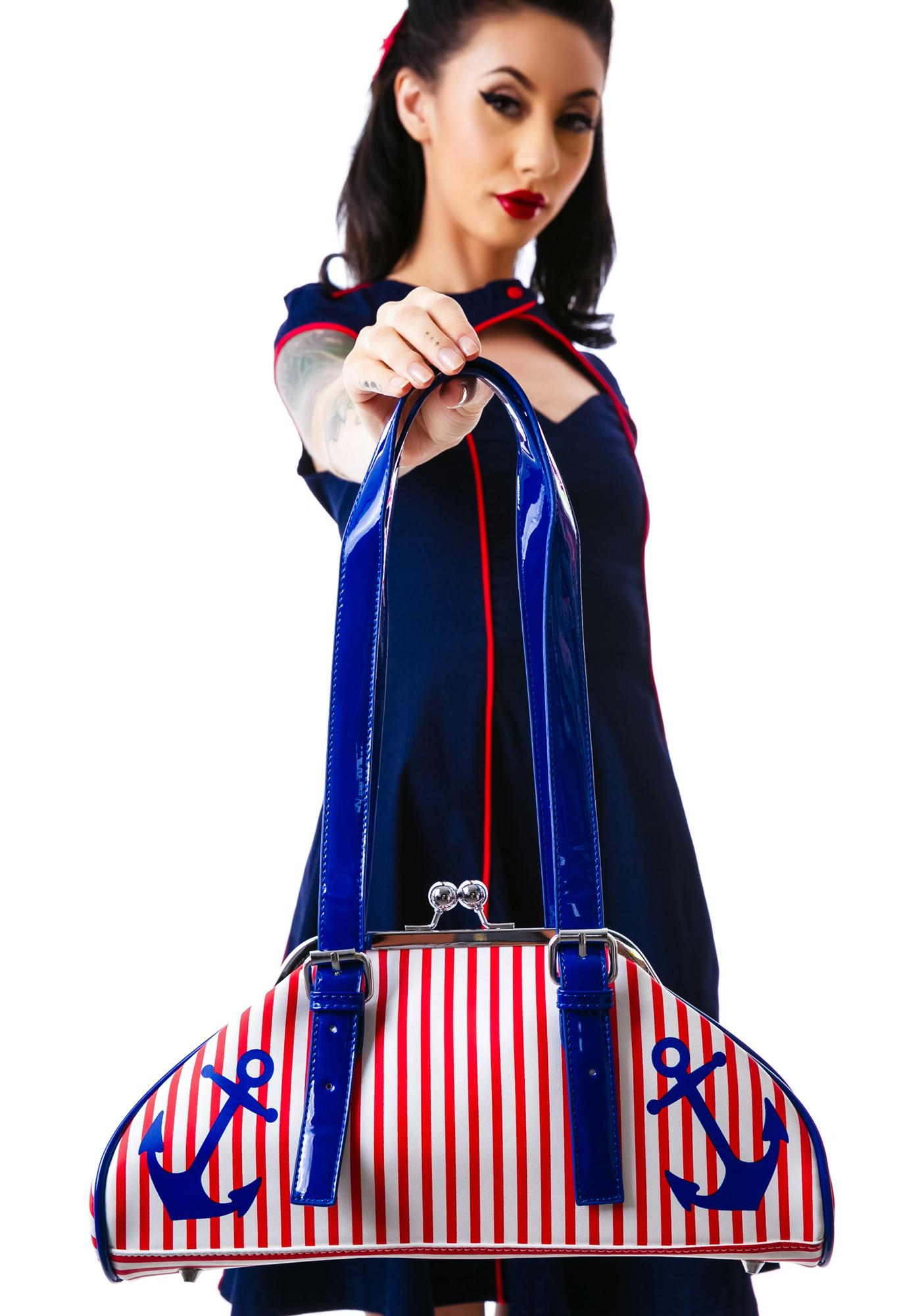 Sourpuss Clothing First Mate Purse