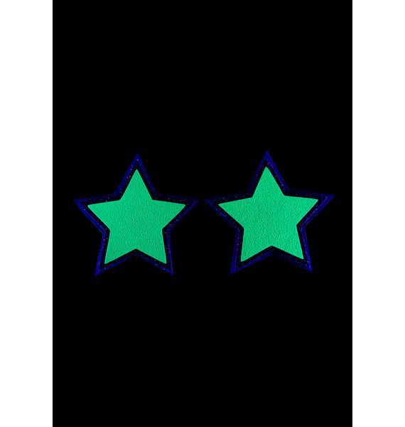 Sasswear Reflective Star Pasties