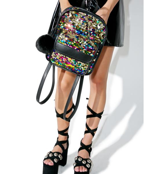 Skinnydip Lulu Sequin Backpack