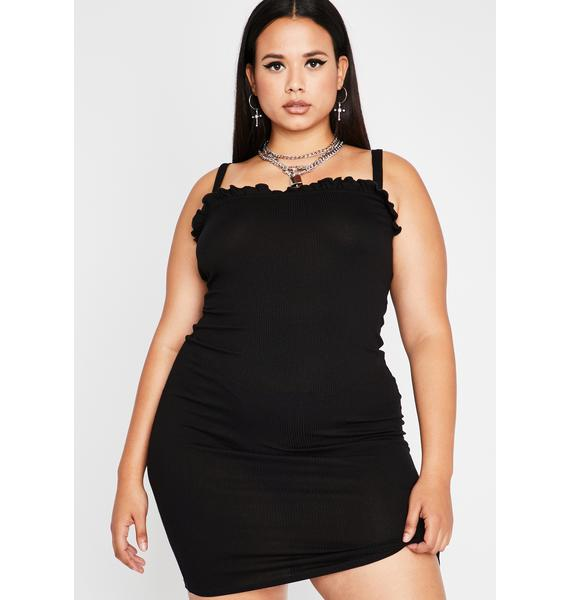 Miss Out Of Ur League Mini Dress