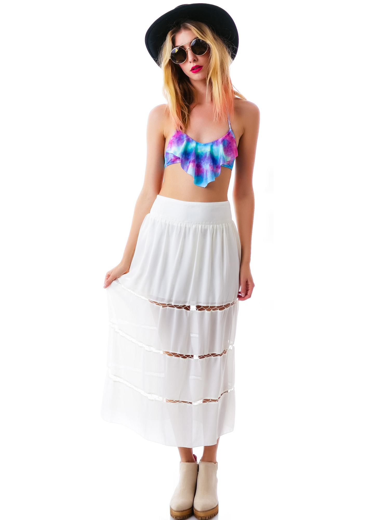 Sweet Innocence Ankle Skirt