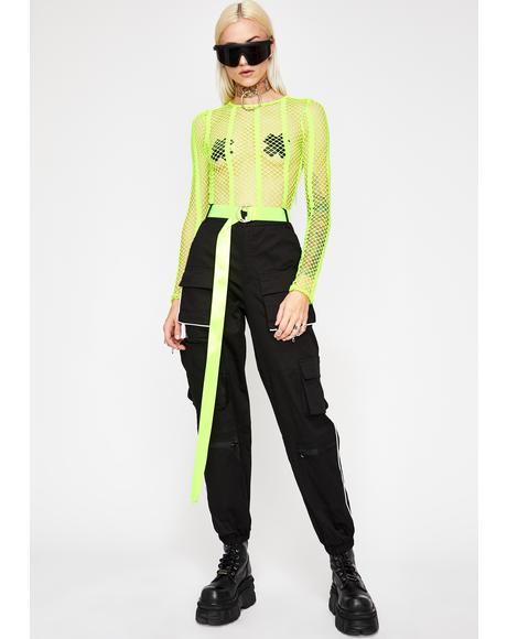 Neon Emotionz Fishnet Bodysuit
