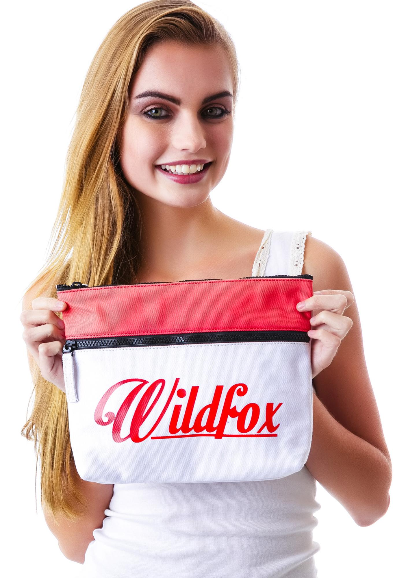 Wildfox Couture Air Mail Kitten Clutch