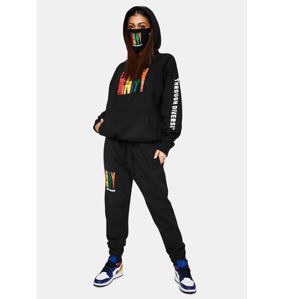 Cross Colours Unity Through Diversity Pullover Hoodie