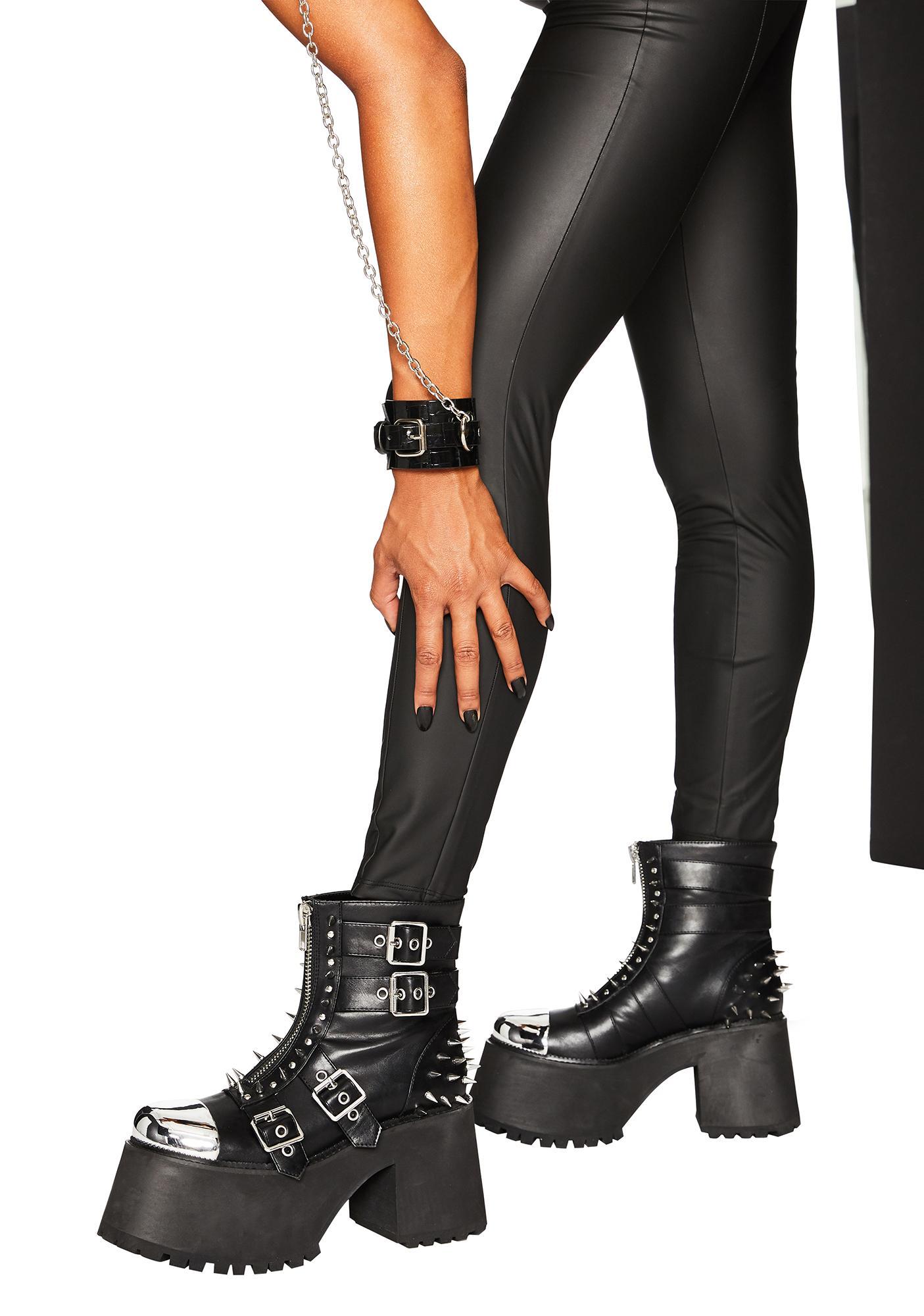 Club Exx Lone Raver Platform Boots